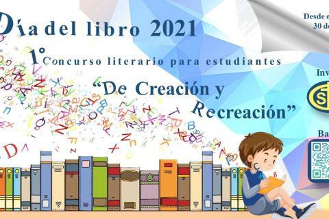 Bases de concurso Día del Libro 2021